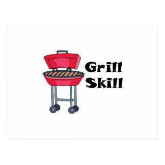 Grill Skill Post Card