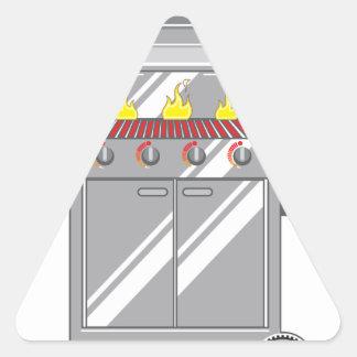 Grill Super Triangle Sticker