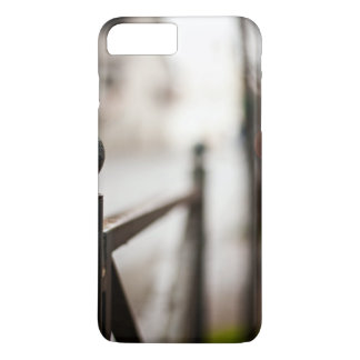 Grill Themed, An Iron Grill Separating The Road An iPhone 7 Plus Case