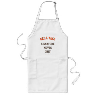 """Grill Time"" Custom Apron"