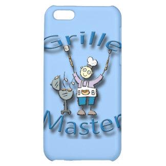 Grille Master blue iPhone 5C Cases
