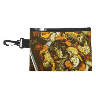 Grilled Carrots Zucchini and Mushroom Dish Accessories Bags