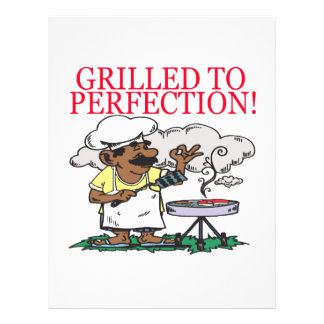 Grilled To Perfection Flyer Design