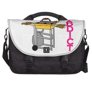 Grilling Addict Laptop Computer Bag