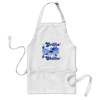 Grilling and Chilling Standard Apron