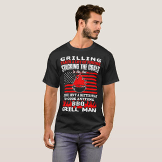 Grilling Finesse Stacking Coals Grillman Bbq Tees