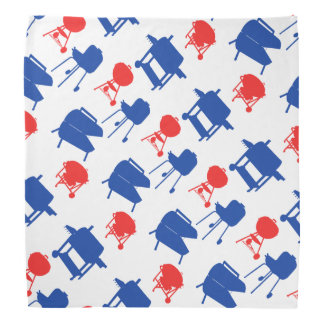 Grillmaster 4th of July in Red, White & Blue Head Kerchiefs
