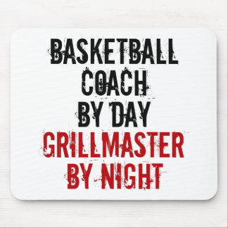 Grillmaster Basketball Coach Mouse Pad