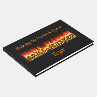 Grillmaster (customizable) guest book