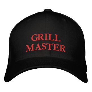 GRILLMASTER EMBROIDERED HAT