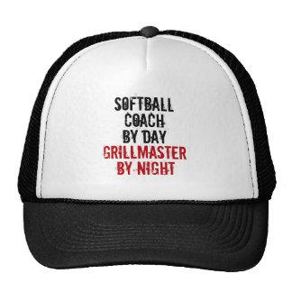 Grillmaster Softball Coach Cap