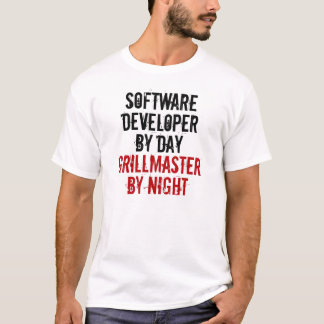 Grillmaster Software Developer T-Shirt