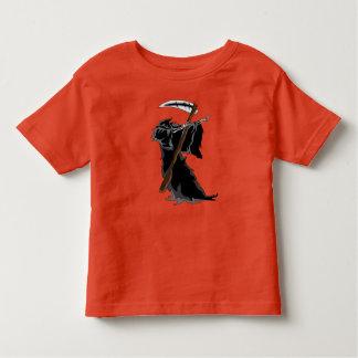 grim Dabbing Funny Halloween Dab Dance Toddler T-Shirt