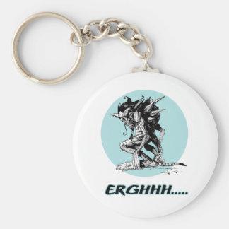 Grim Gargoyle Key Ring