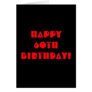 Grim Reaper 60th Birthday Card