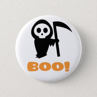 Grim Reaper 6 Cm Round Badge