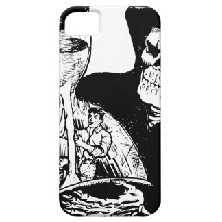 Grim Reaper and Man Barely There iPhone 5 Case