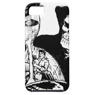 Grim Reaper and Man iPhone 5 Cover