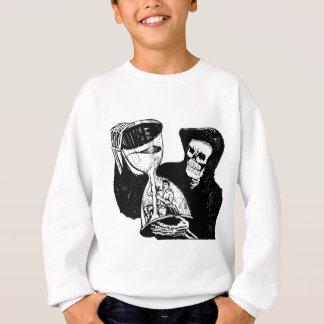 Grim Reaper and Man Sweatshirt