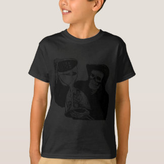 Grim Reaper and Man T-Shirt
