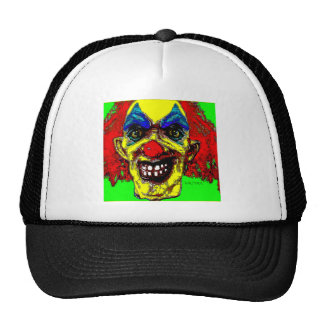 """Grim Reaper Clown from """"The Family"""" by Valpyra Mesh Hat"""