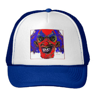 """Grim Reaper Clown from """"The Family"""" by Valpyra Trucker Hat"""
