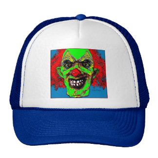 """Grim Reaper Clown from """"The Family"""" by Valpyra Mesh Hats"""