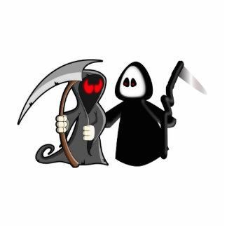 Grim Reaper Death Photo Sculpture