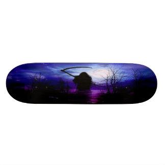 Grim Reaper Fantasy Night Skateboard Deck