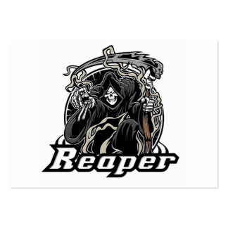 grim reaper gothic evil for halloween pack of chubby business cards