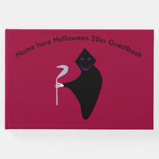 Grim Reaper Halloween Guestbook