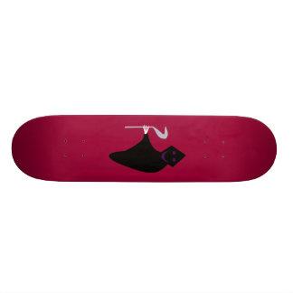 Grim Reaper Halloween Skateboard