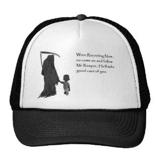 grim-reaper mesh hat