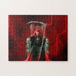 Grim Reaper On His Throne Puzzle