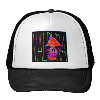 Grim Reaper over VALPYRA  Red by Valpyra Trucker Hats
