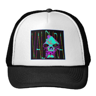 Grim Reaper over VALPYRA Turquoise by Valpyra Trucker Hat