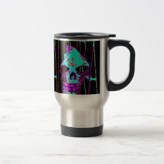 Grim Reaper over VALPYRA Turquoise by Valpyra Mug