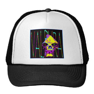 Grim Reaper over VALPYRA Yellow by Valpyra Mesh Hat