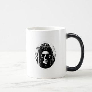 Grim Reaper Skull Design Magic Mug
