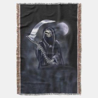 Grim Reaper Throw Blanket