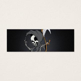 Grim Reaper Toon Mini Business Card