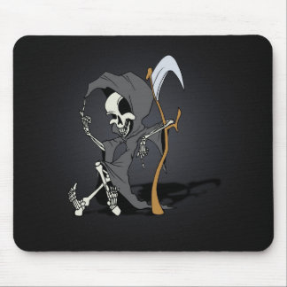 Grim Reaper Toon Mouse Pad