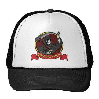 Grim Reaper Trucker Hat Mesh Hat