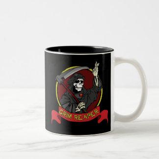 Grim Reaper Two-Tone Mug Coffee Mug