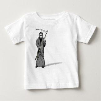 Grim Reaper Vector Sketch Baby T-Shirt