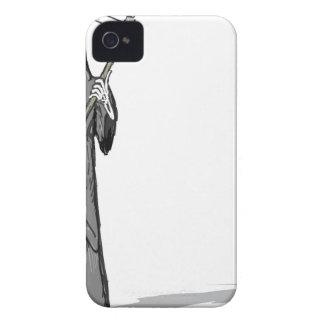 Grim Reaper Vector Sketch Case-Mate iPhone 4 Cases