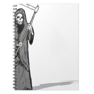 Grim Reaper Vector Sketch Notebook
