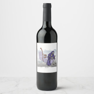 Grim Reaper Wine Label