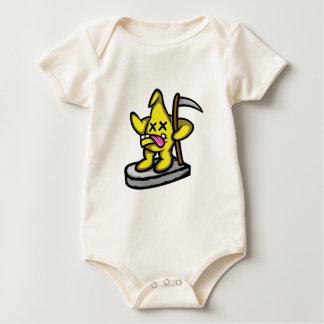 Grim Star Baby Bodysuit