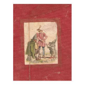 Grim Tales of Fairies read by cheryl mohnssen Postcard